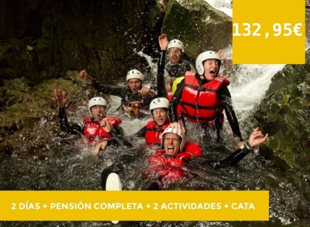 2 días+ Pensión completa + 2 actividades+cata